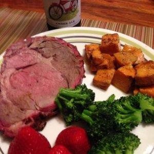 Ribeye Roast plate
