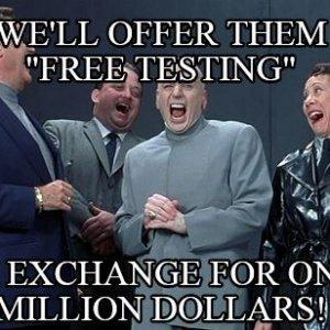 Dr. Evil Free Testing.JPG