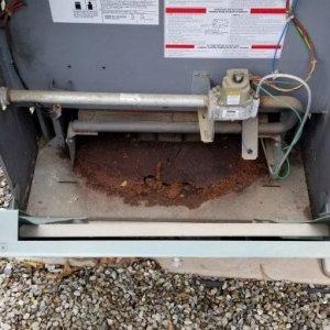 Rusting RayPak Heater 1