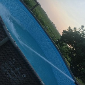 Pools are way more fun with water...