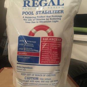 Regal Pool Stablizer/CYA