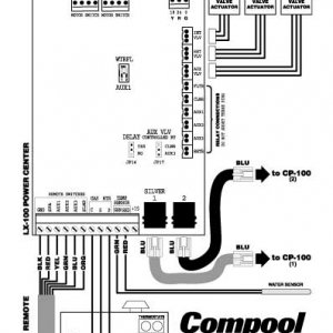 Compool Circuit Board for LX100