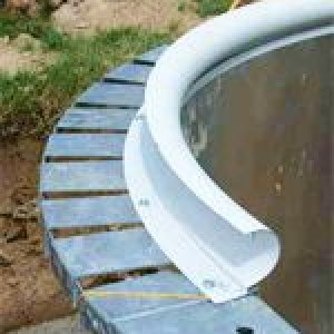 Plastic Edge for Concrete Coping