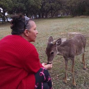Val with Deer 16 Feb 19.jpg