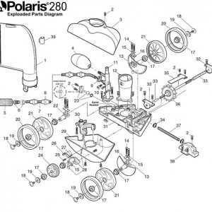 Polaris 280 parts
