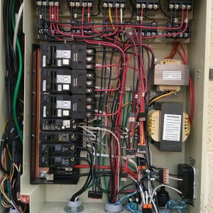 IntelliCenter Load Center High Voltage Compartment