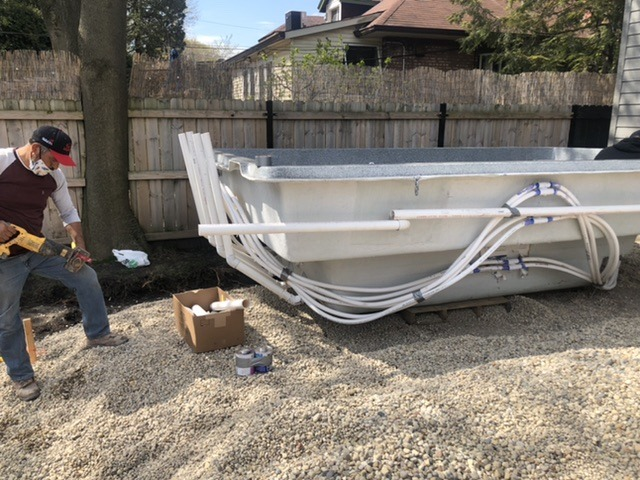 File:Fiberglass Pool Plumbed before Delivery.jpg