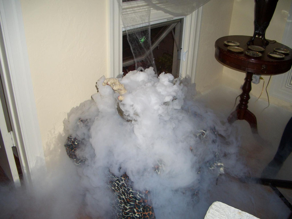 60 Pounds Of Dry Ice And A Swimming Pool
